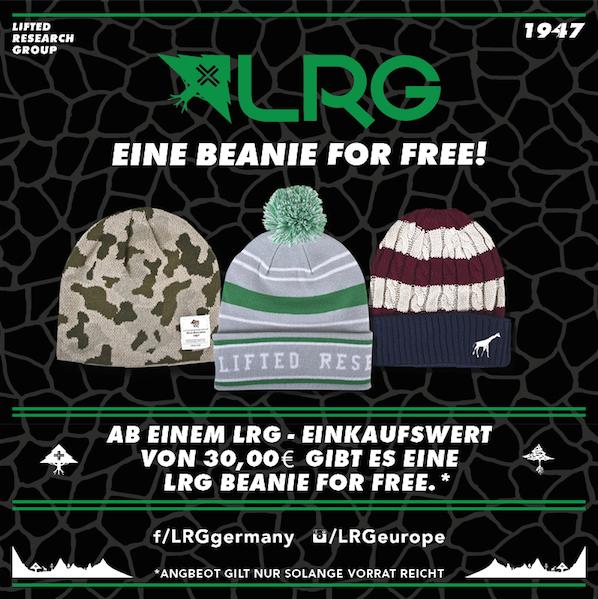LRG Beanie For FREE!