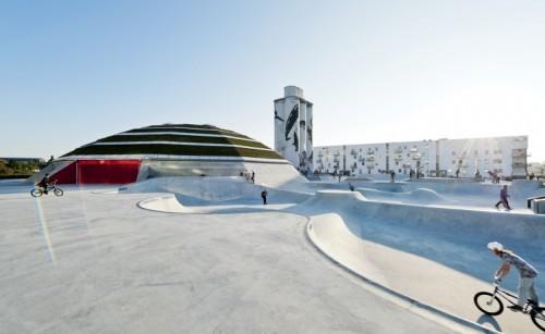 Ein Garten Eden für Skater: Der StreetDome in Haderslev