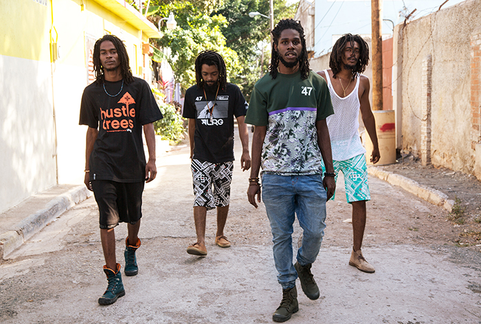 LRG & Chronixx Kingston, Jamaica Capture Land