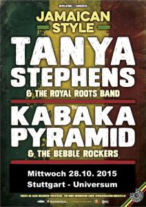 Reggae Konzert Stuttgart: Tanya Stephens & Kabaka Pyramid