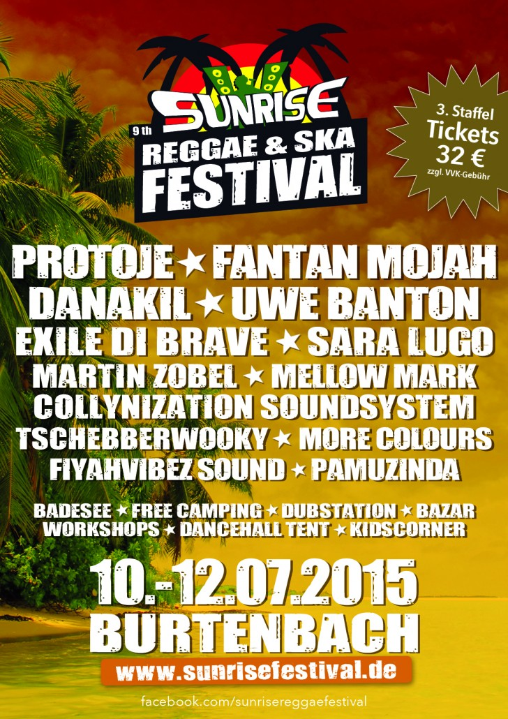 Sunrise Reggae & Ska Festival