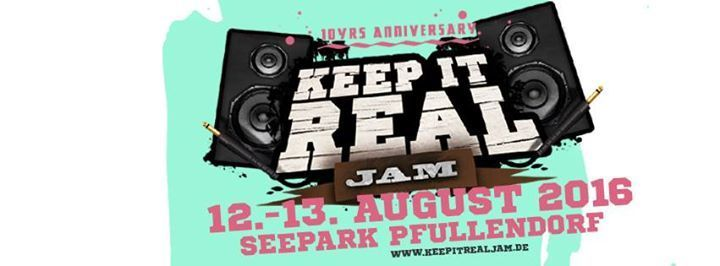 Reggae Festival – 10 Jahre Keep it real Jam